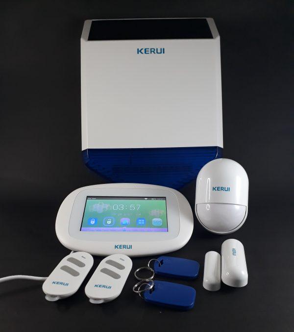 Alarma GSM WIFI PSTN K5 Sirena Solar