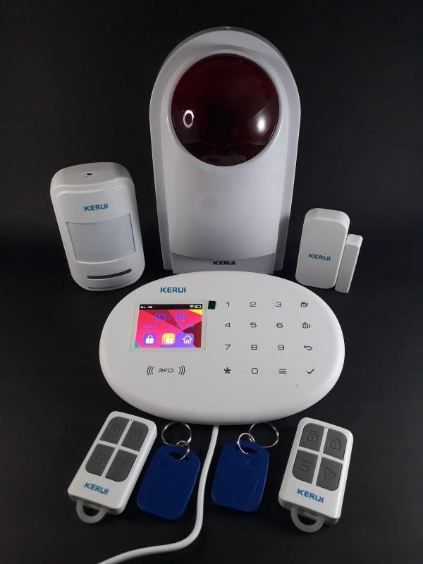 Alarma GSM WIFI RFID PSTN W20 SI