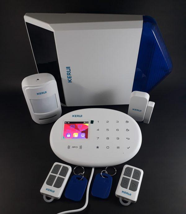 Alarma GSM WIFI RFID PSTN W20 SS