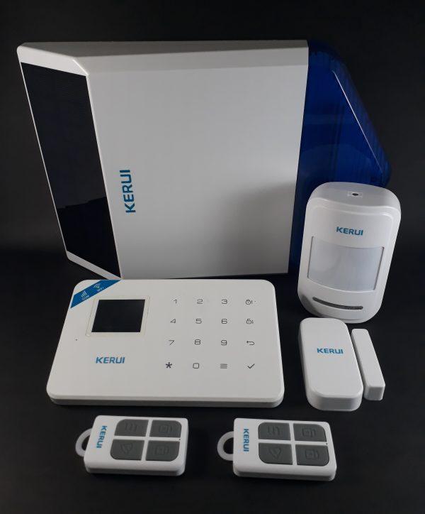 Alarma GSM WIFI W18 con sirena Solar